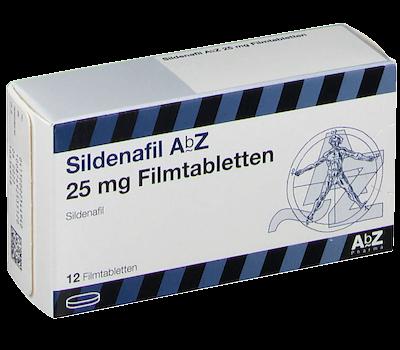 Sildenafil-AbZ-Potenzmittel