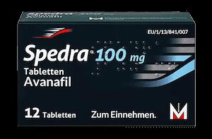 Spedra 100 mg Potenzmittel Wirkstoff Avanafil
