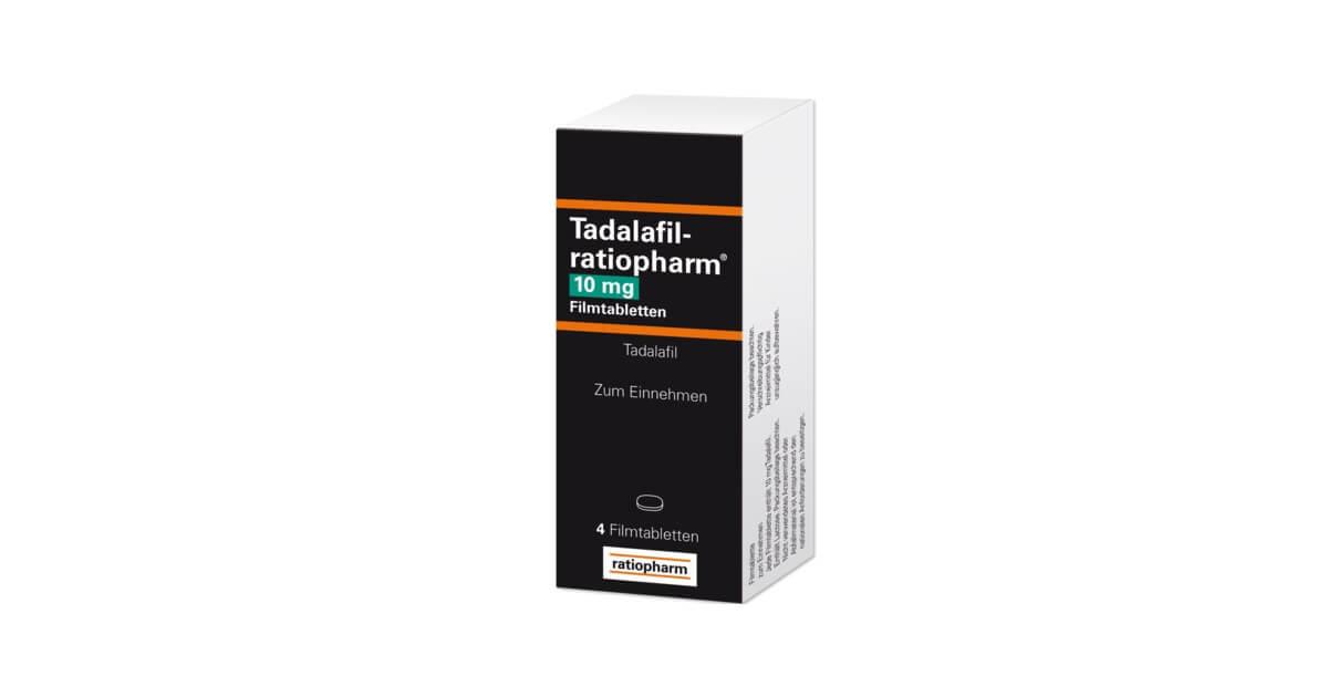 Tadalafil-ratiopharm Preis und Erfahrungen
