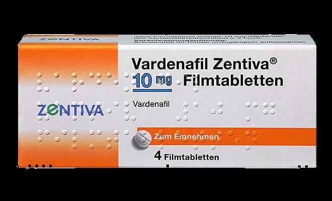 Vardenafil-Zentiva-Levitra-Generikum